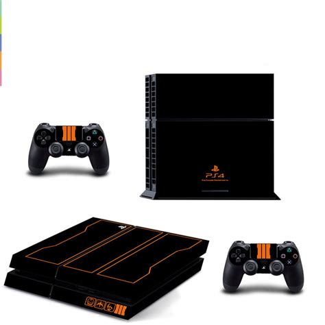 Sticker Playstation squads decal ps4 skin sticker wallpaper for sony playstation 4 ps4 console and 2pcs