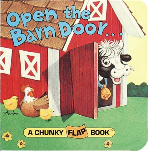 libro open the barn door open the barn door find a cow by christopher santoro board book barnes noble 174