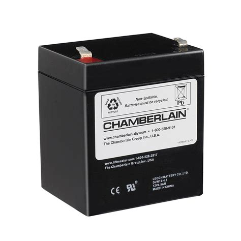 Battery Powered Garage Door Opener Chamberlain Replacement Garage Door Opener Battery 4228 The Home Depot