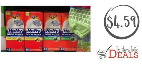 Want Some Beautiful With A Hefty Discount by Hefty Trash Bags 4 59 The Harris Teeter Deals