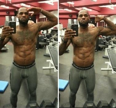 lebron james has a six pack the twist gossip