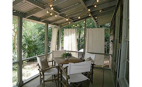 covered patio curtains covered patio with breezy curtains backyardia pinterest