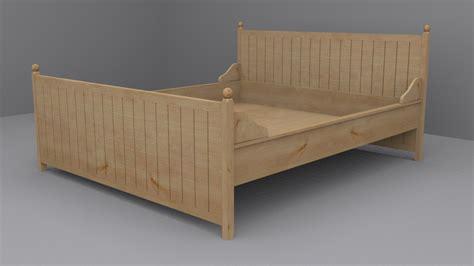 ikea hurdal bed ikea hurdal bed frame 3d 3ds