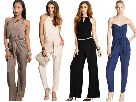 Maxi Zipper Pakaian Wanita Jumpsuit Overall fashion how to find the right jumpsuit for your type