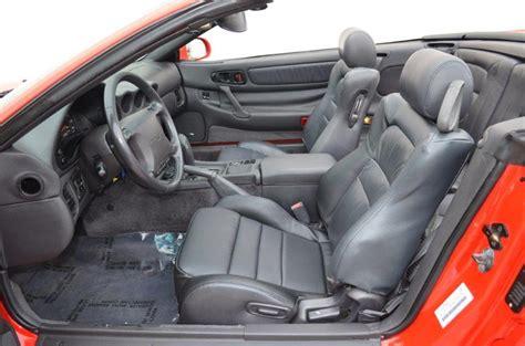 3000gt Vr4 Interior by 1995 Mitsubishi 3000gt Spyder Sl Convertible 170375