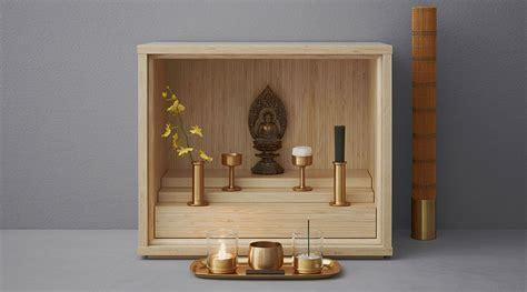 shinobu designing a modern buddhist altar