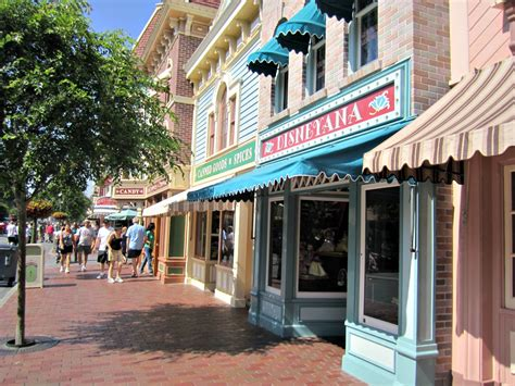 Of Shops by Stores On In Disneyland