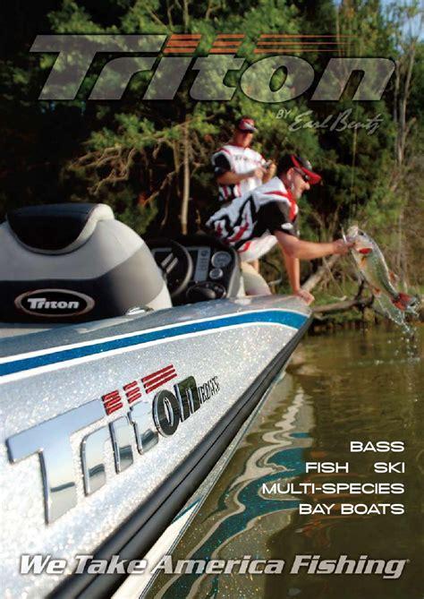 triton boats catalog 2012 triton boats catalog by triton boats issuu