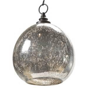 Mercury Light Pendant Voysey Industrial Loft Antique Mercury Glass Float Pendant Kathy Kuo Home