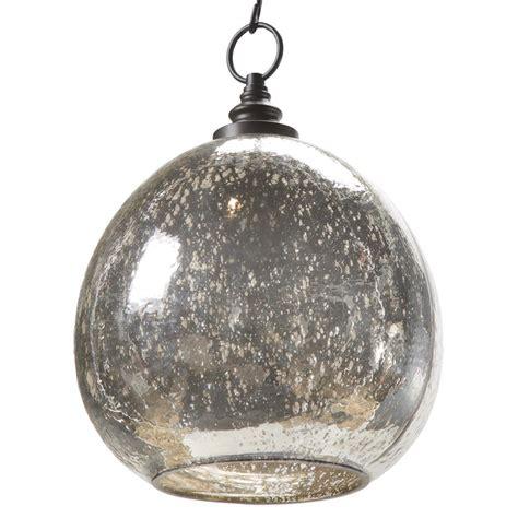 glass buoy pendant light voysey industrial loft antique mercury glass float pendant