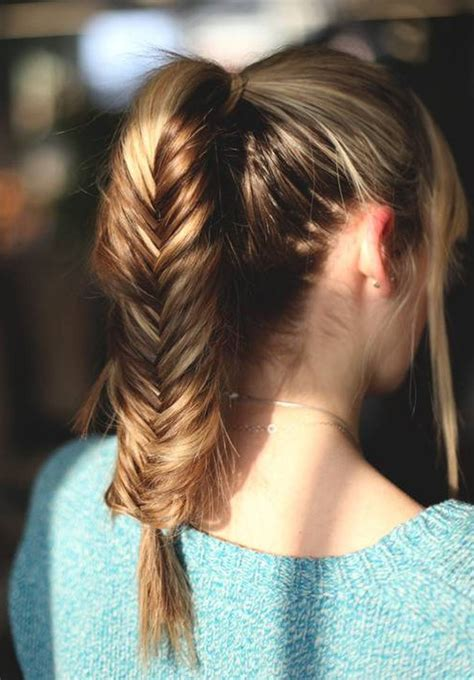 hairstyles for shoulder length hair pony tails 10 easy ponytail hairstyles for medium length hair
