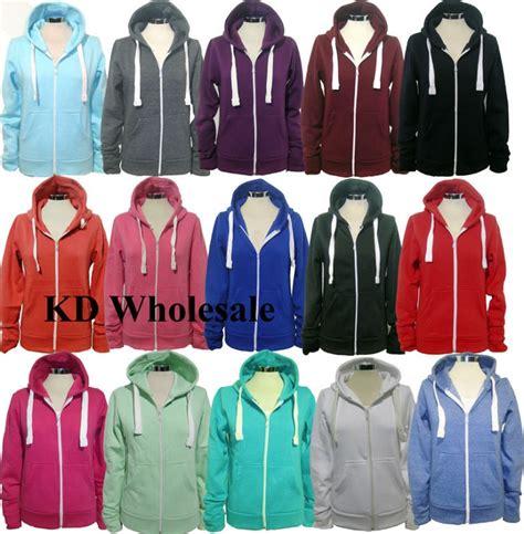H M Mens Hooded Jacket Zipper Cotton Original 1 new womens plain hoodie hooded zip top zipper