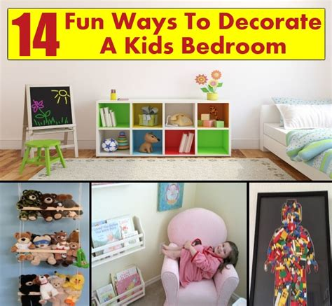 fun things to do in the bedroom 14 fun ways to decorate a kids bedroom diy home things