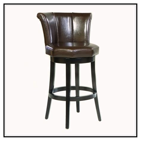 Genuine Leather Swivel Bar Stools by Leather Swivel Bar Stools Home Design Ideas