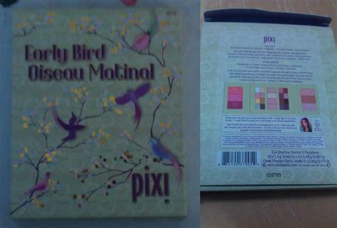 Make Up Kit Pixy pretty feathers early bird pixi make up kit