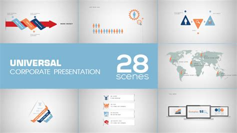 after effects business templates universal corporate presentation by kiwiplay videohive