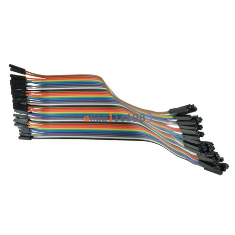 Best Quality Kabel Dupont Famale To 400pcs 10x40 dupont wire jumper cable pin connector 2 54mm 20cm to ebay