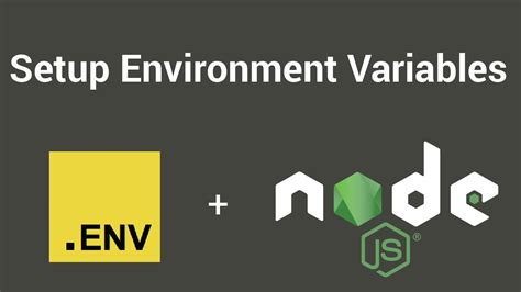 node js video tutorial youtube setup environment variables with node js dotenv tutorial