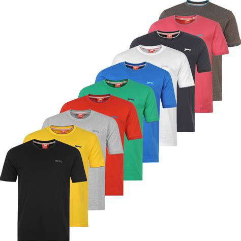Slazenger S slazenger mens t shirt s m l xl 2xl 3xl 4xl for sports and