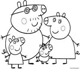 free coloring pages peppa peppa pig