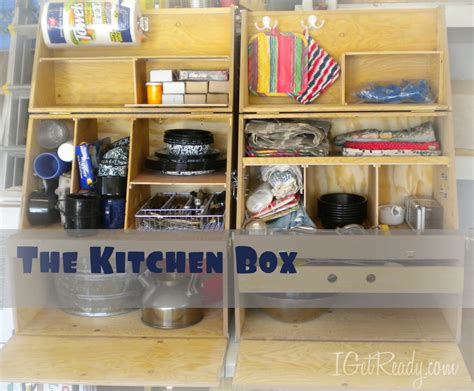 Kitchen Box Evacuating Your Home 101 Box 9 The Kitchen Box I Get