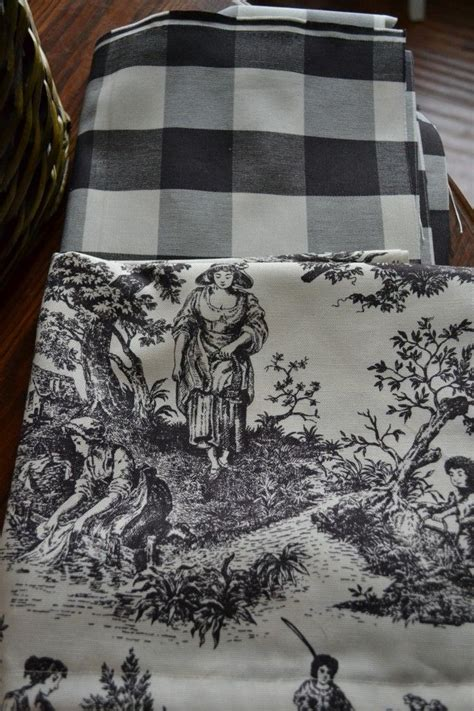 Black And White Toile Kitchen Curtains by 25 Best Ideas About Buffalo Check Curtains On