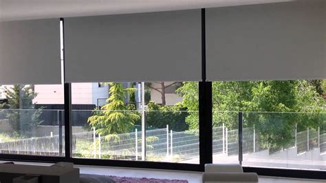 cortinas enrollables cortinas enrollables motorizadas somfy sistema rts