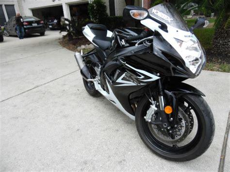 Suzuki 2014 Black 2014 Suzuki Gsxr 600 Black White Like New Sport Bike
