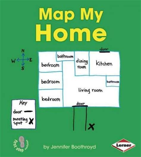 create my house teaches young readers how to create a basic map of their