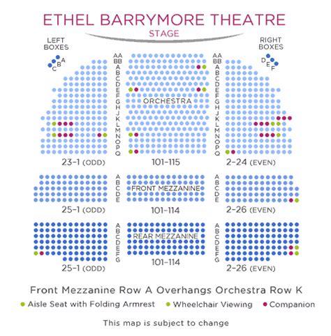 winter garden theater nyc seating chart barrymore theatre shubert organization