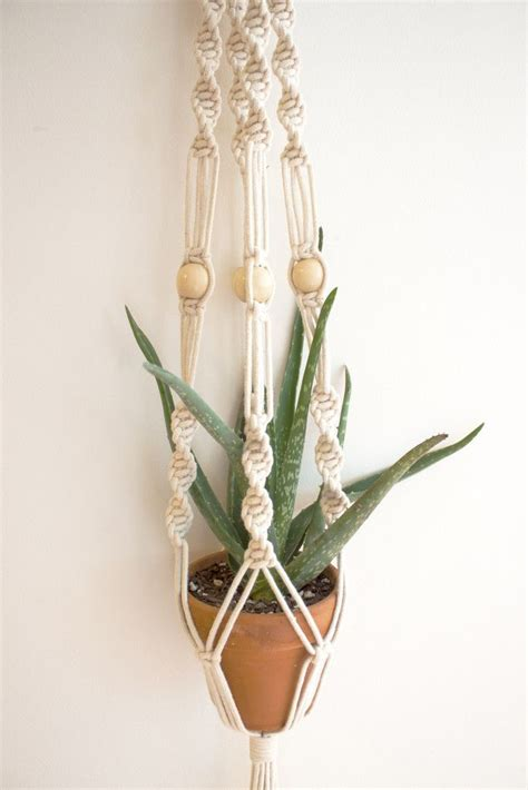 Macrame Patterns For Hanging Plants - macrame plant hanger macrame plant hangers plant