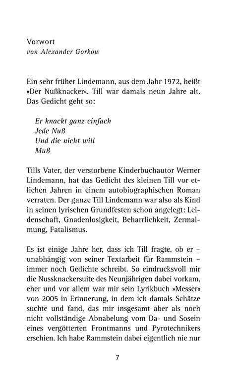 Rammstein World - Book In stillen Nächten