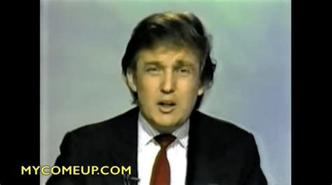 donald trump young amazing very early tv interview from 1980 with a young