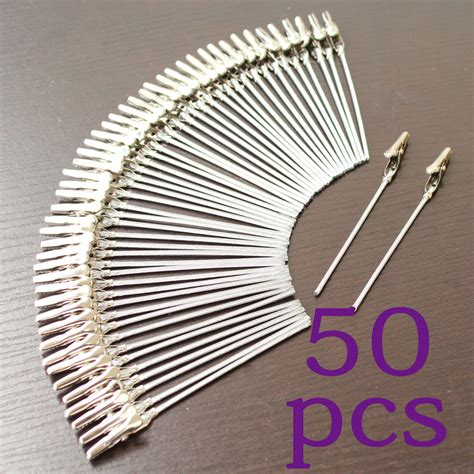 photo clips wire lot 50pcs 4 inch diy craft new wire clip card 172 e picture