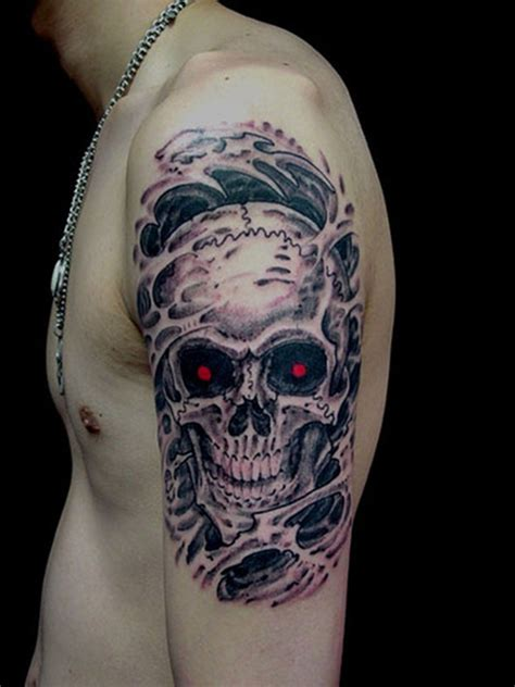 red skull tattoo 51 skull tattoos for and inspirationseek