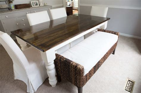building a dining room table kelley alex before after alex s darling dining room thrift