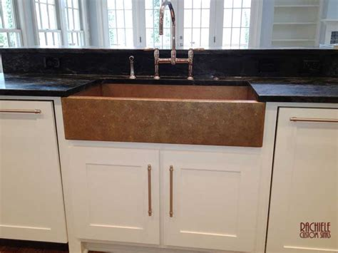 copper farmhouse sink with white cabinets hundreds of photos of copper sinks installed in kitchens