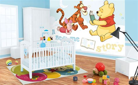 babyzimmer gestalten disney winnie pooh kinderzimmer bei hornbach