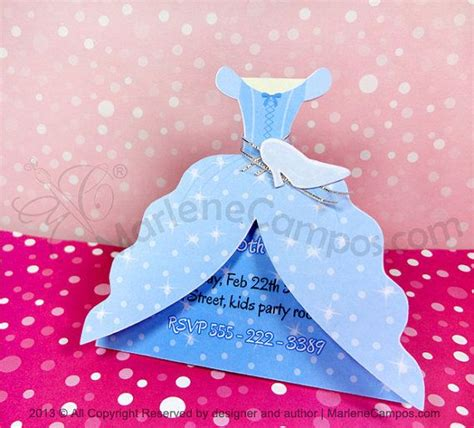 printable dress invitation best 25 cinderella invitations ideas on pinterest