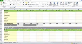 Excel Timesheet Template For Employees by Blank Employee Timesheet Template Excel Tmp