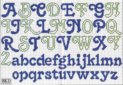 abecedario en punto de cruz para imprimir punto de cruz on pinterest punto de cruz embroidery
