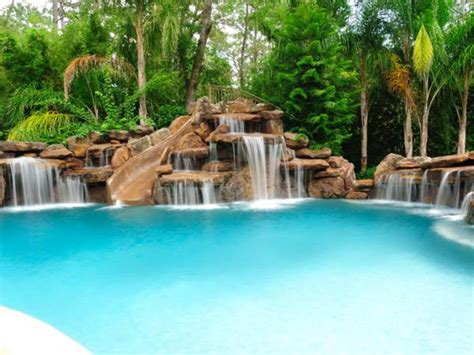 pool waterfalls swimming pool waterfalls pool rock waterfalls platinum