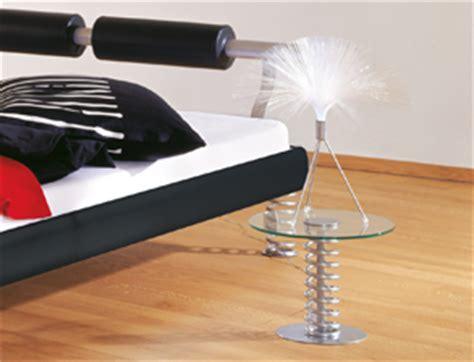 len nachttisch modernes designerbett mit sprungfedern und nackenrollen