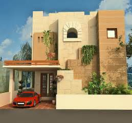Home Design Arabic Style front elevation modern house home design inside