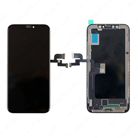 Lcd Iphone X replacement for iphone x lcd screen digitizer assembly with frame black