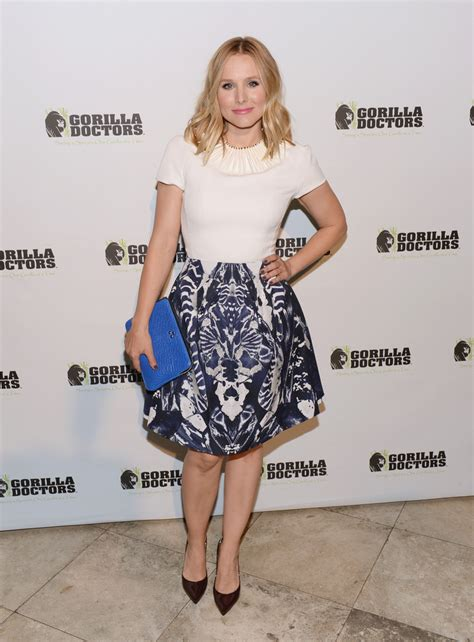 Style Kristen Bell Fabsugar Want Need by Kristen Bell Knee Length Skirt Knee Length Skirt