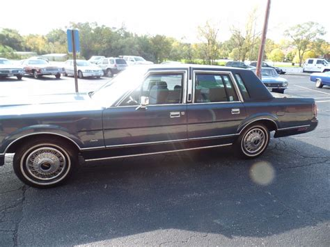how does a cars engine work 1987 lincoln continental mark vii on board diagnostic system 1987 lincoln town car original low miles 5 0 l engine numbers matching survivor car stock
