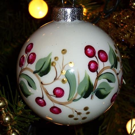 painted christmas balls best 25 painted ornaments ideas on ornaments painted