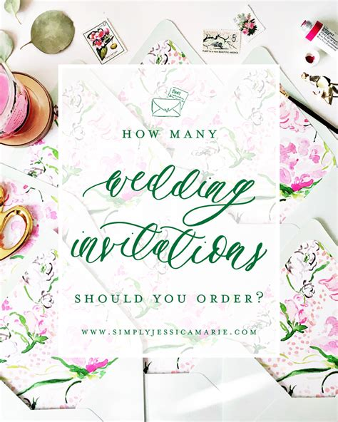 Custom Wedding Stationery by Custom Wedding Stationery 101 How Many Wedding