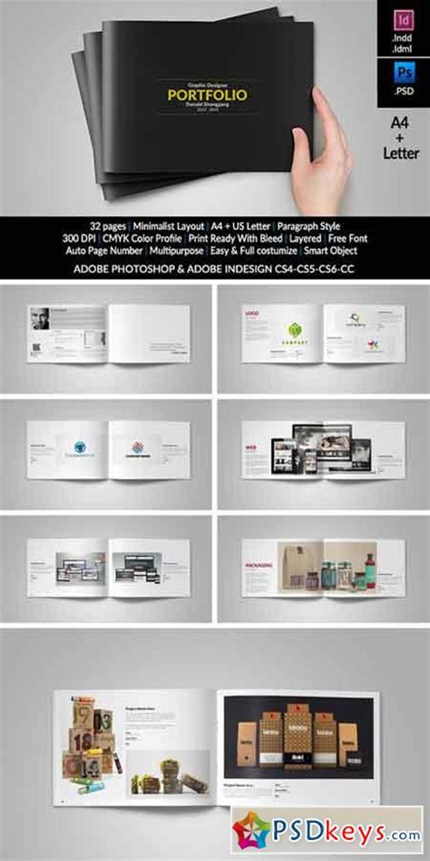 graphic design portfolio layout free download graphic design portfolio template 336440 187 free download